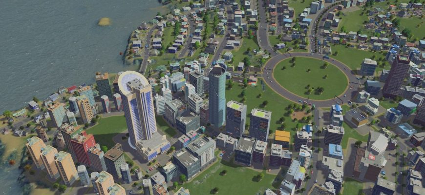 моды на Cities Skylines