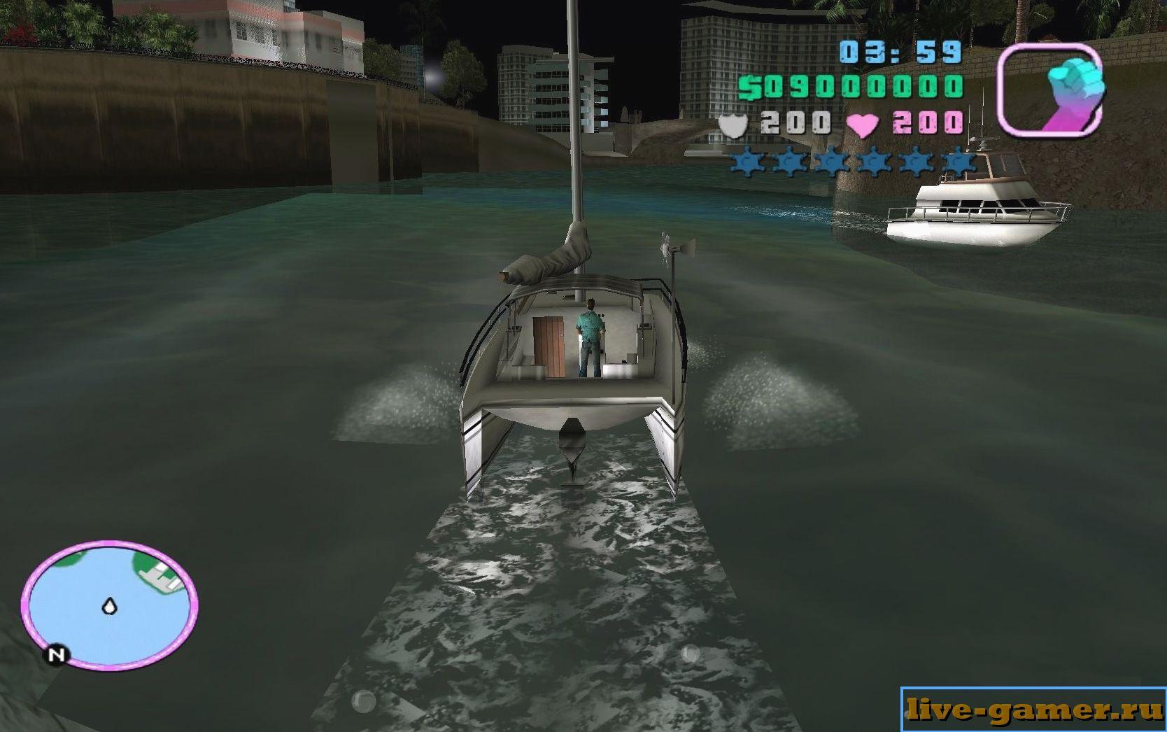 как плыть в ГТА 5
