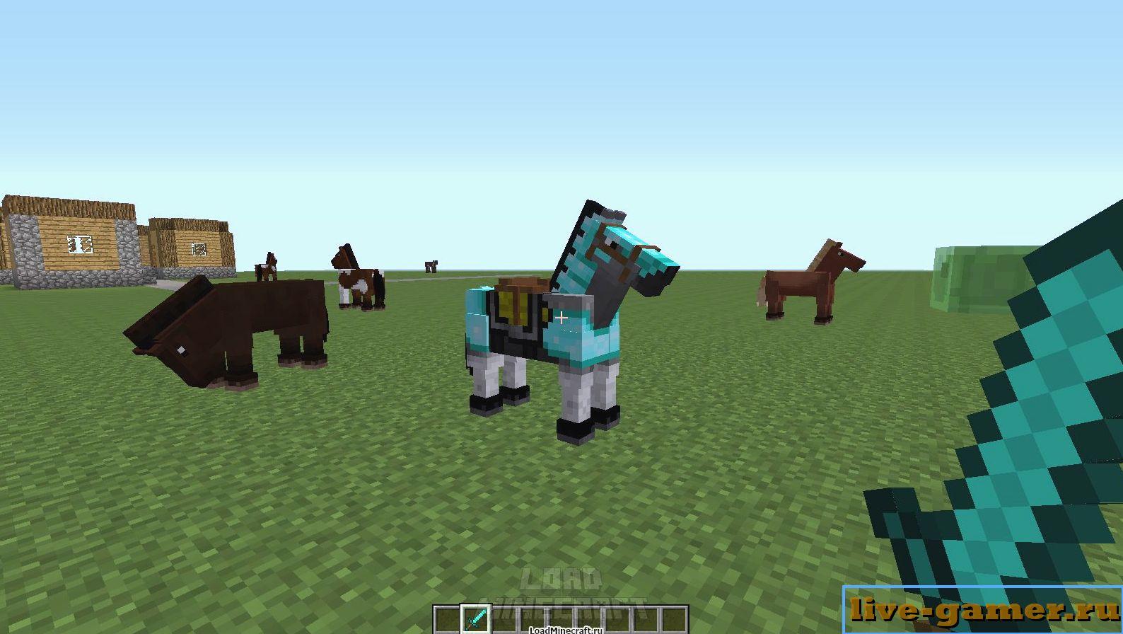 Как быстро приручить лошадь в Майнкрафт