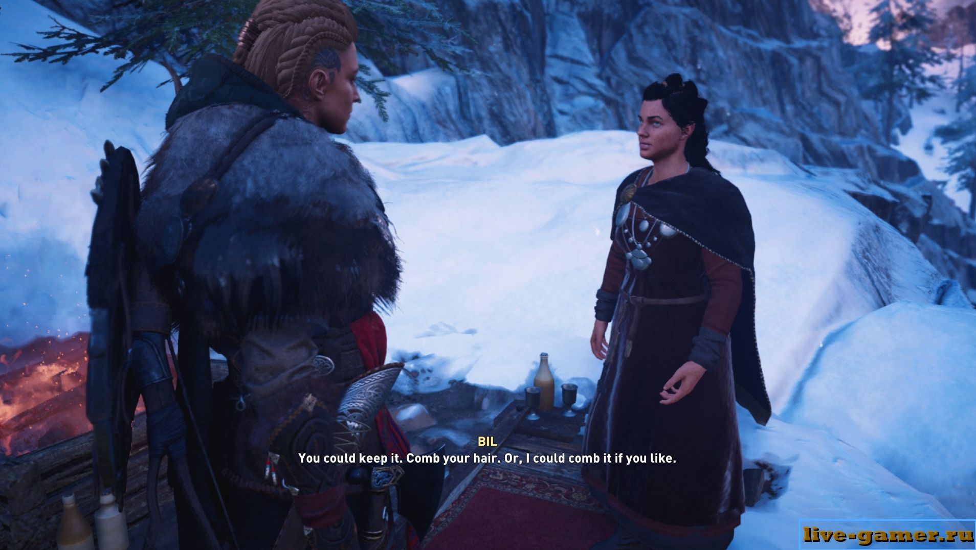 Найти гребень в Assassins Creed Valhalla
