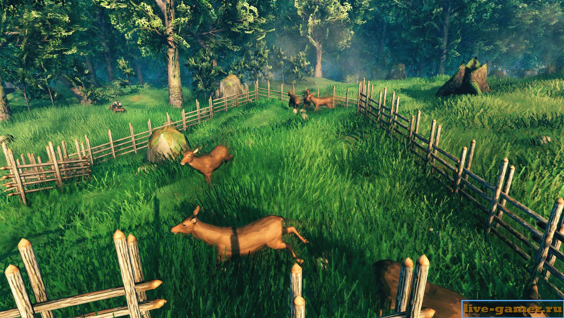 Valheim: приручение животных